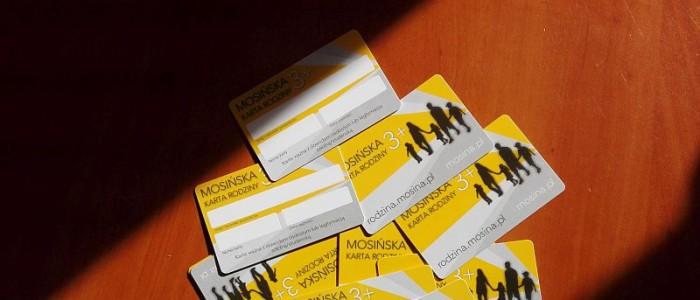 Wydaliśmy kolejne 125 kart w ramach programu Mosińska Karta Rodziny 3+